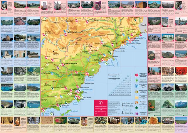 Cote Vermeille Carte Touristique.Le Concept Touristics